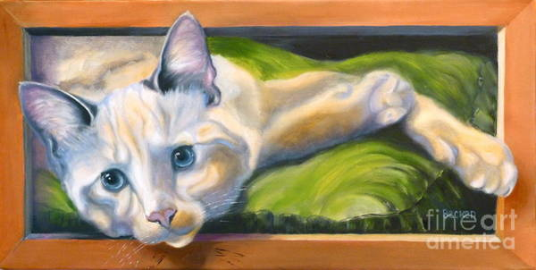 Wall Art - Painting - Picture Purrfect by Susan A Becker