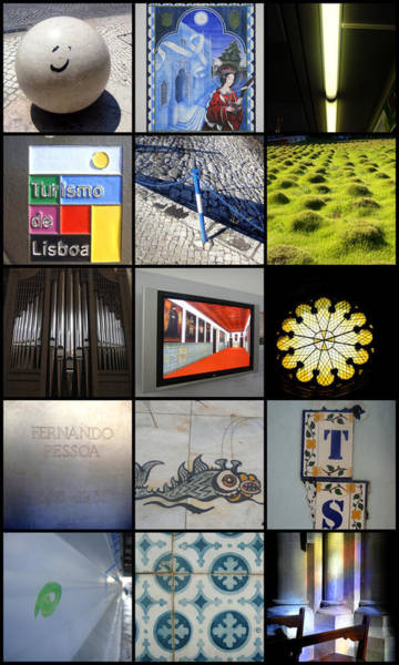 Photograph - Pieces Of Lisbon by Roberto Alamino
