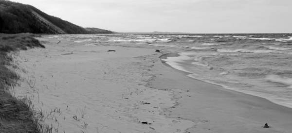 Traverse City Photograph - Pierport Beach Panorama by Twenty Two North Photography
