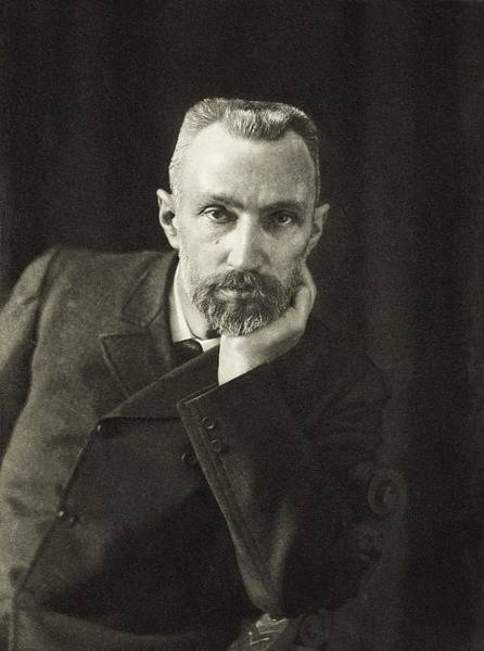 Wall Art - Photograph - Pierre Curie, French Physicist by Science, Industry & Business Librarynew York Public Library