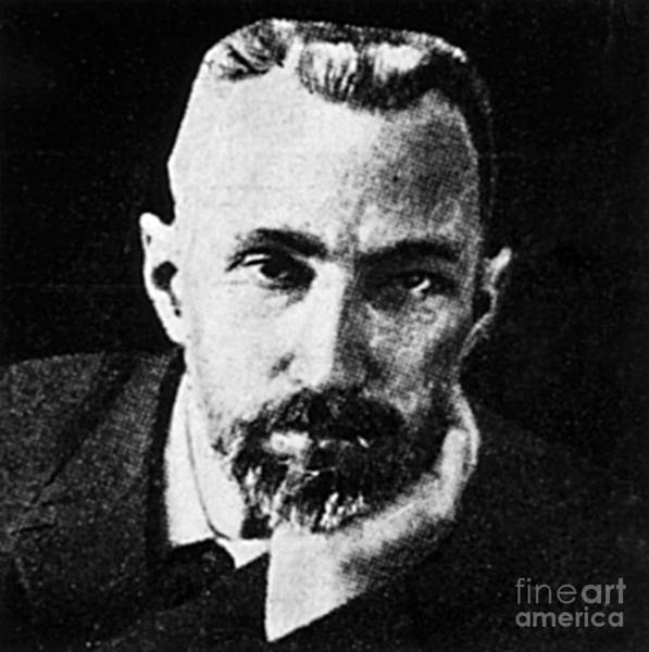 Diamagnetism Wall Art - Photograph - Pierre Curie, French Physicist by Science Source