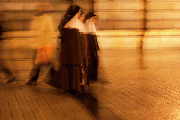 Photograph - Piety In Motion by Lorraine Devon Wilke