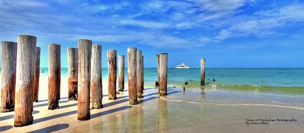 Photograph - Pillar To Yacht by Sean Allen