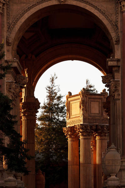 Photograph - Pillars In The Light by Ray Shiu