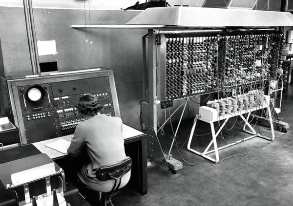 Alan Turing Wall Art - Photograph - Pilot Ace Computer, 1952 by National Physical Laboratory (c) Crown Copyright