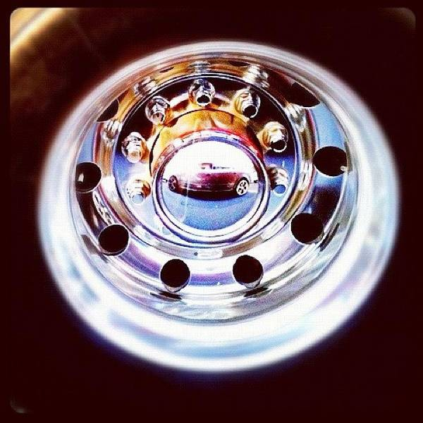 Steel Photograph - Pimped My Reflection #fcnphoto #fairfax by Luke Fuda