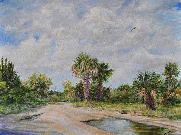 Wall Art - Painting - Pine Island Puddle by AnnaJo Vahle