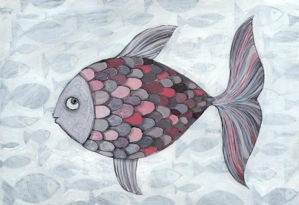 Fish Photograph - Pink Fish by Georgiana Chitac