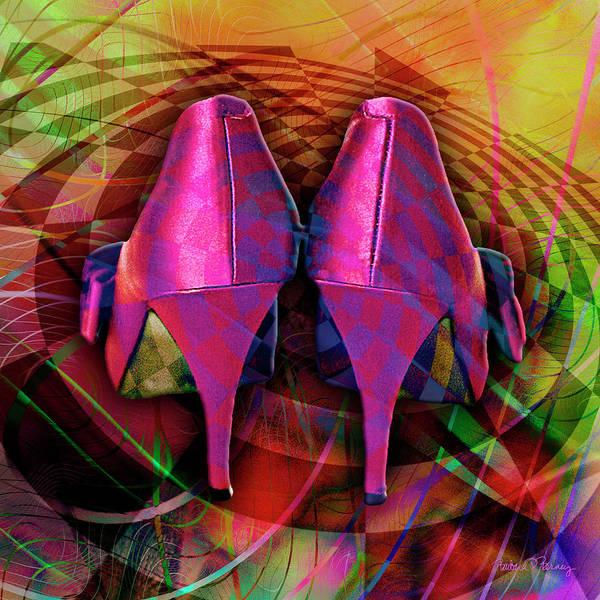 Digital Art - Pink Stilettos by Barbara Berney