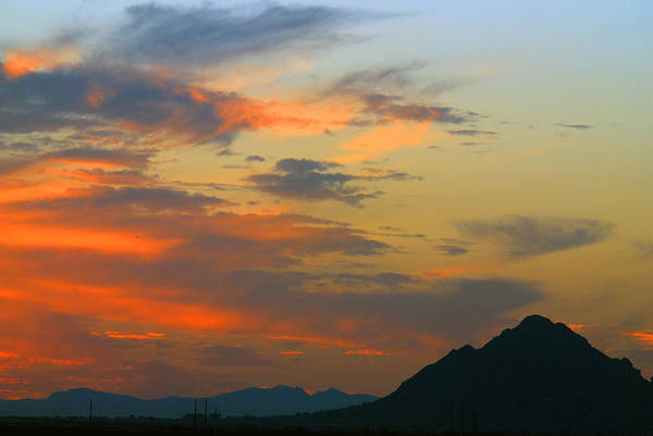 Photograph - Pinnacle Peak Sunset by Tam Ryan