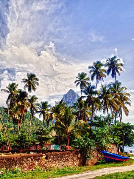 Photograph - Piton Saint Lucia  by Daniel Marcion