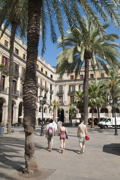 Photograph - Placa Reial Barcelona Spain by Matthias Hauser