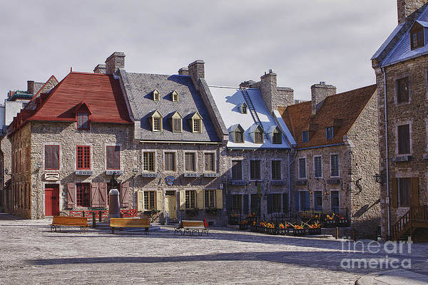 Wall Art - Photograph - Place Royale by Eunice Gibb