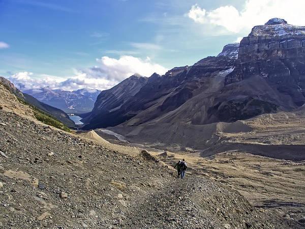 Wall Art - Photograph - Plain Of Six Glaciers Trail - Lake Louise Canada by Daniel Hagerman