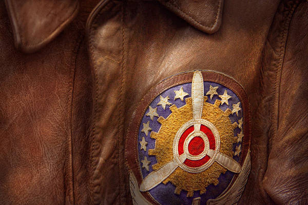 Wall Art - Photograph - Plane - Pilot - The Flight Jacket by Mike Savad