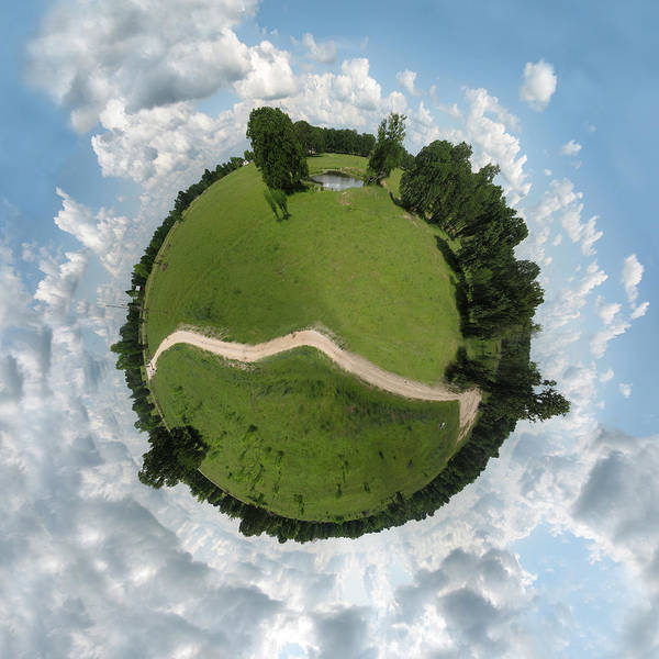 College Photograph - Planet Wee Path by Nikki Marie Smith