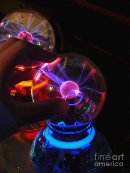 Photograph - Plasma Globes by Jeff Breiman