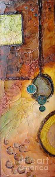 Painting - Platter 5 by Phyllis Howard