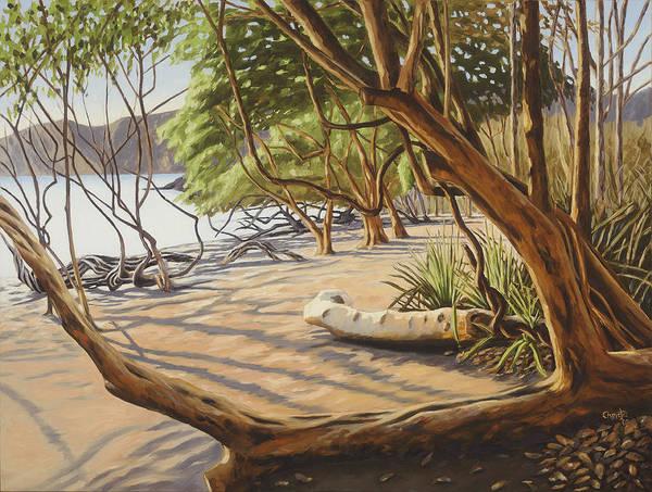 Wall Art - Painting - Playa Catalina by Christie Michael