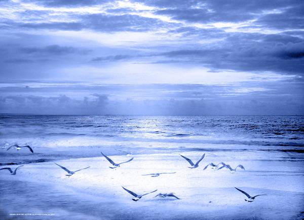 Playa De Traba Art Print