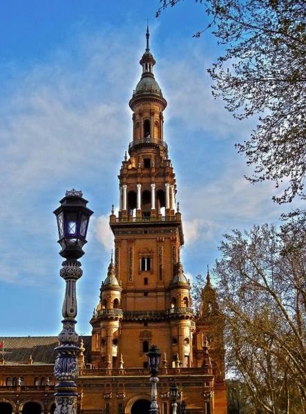 Photograph - Plaza De Espana - Sevilla by Juergen Weiss