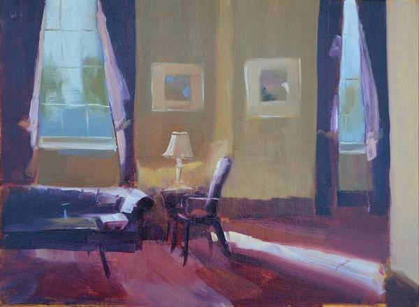 Wall Art - Painting - Please Have A Seat by Patricia Caldwell
