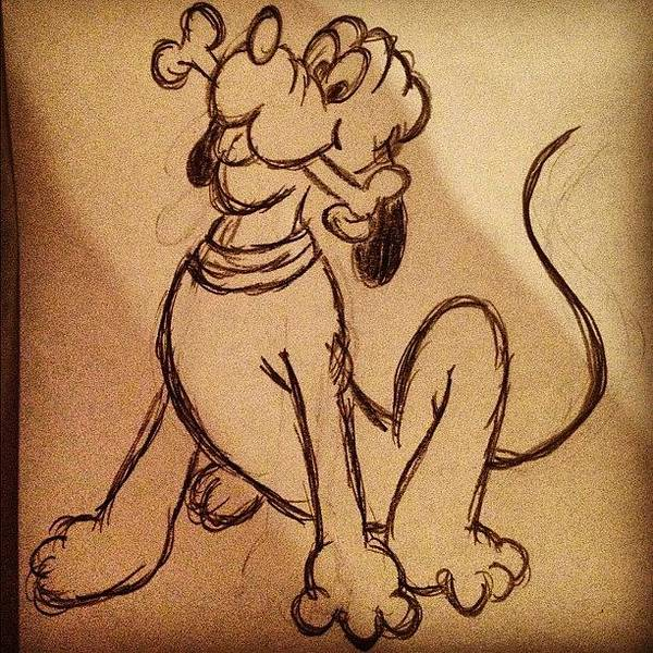 Pencil Wall Art - Photograph - Pluto😄🐶💘 #pluto #mickey #dog by B C