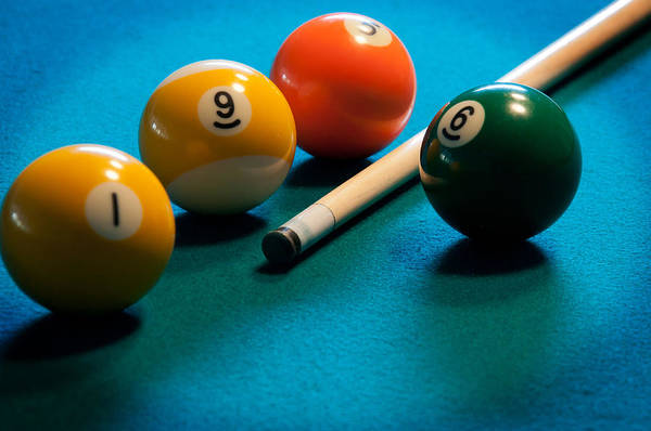 Photograph - Pocket Billiards by Frank Mari