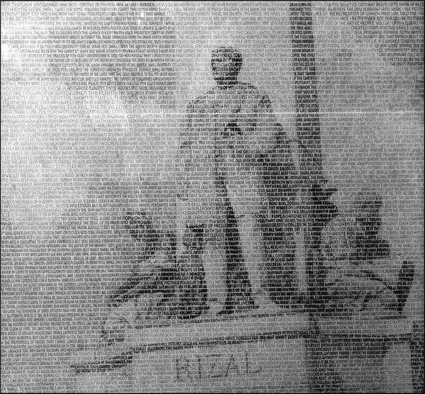 Drawing - Poems Of Rizal 1966 To 67 B by Glenn Bautista