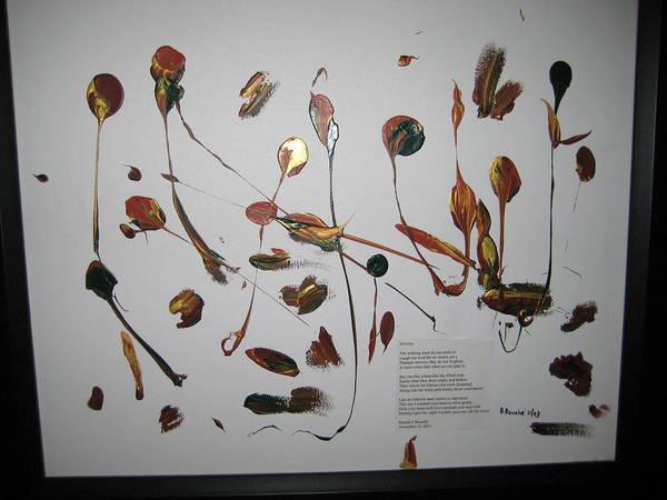Poetry Painting Art Print