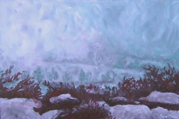 Painting - Pogonip by Susan Moore