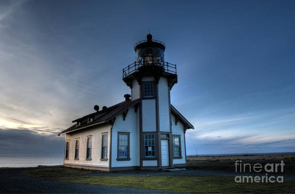 Cabrillo Photograph - Point Cabrillo Lighthouse by Bob Christopher
