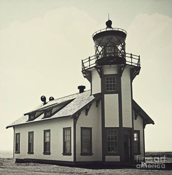 Photograph - Point Cabrillo Lighthouse by Pam  Holdsworth