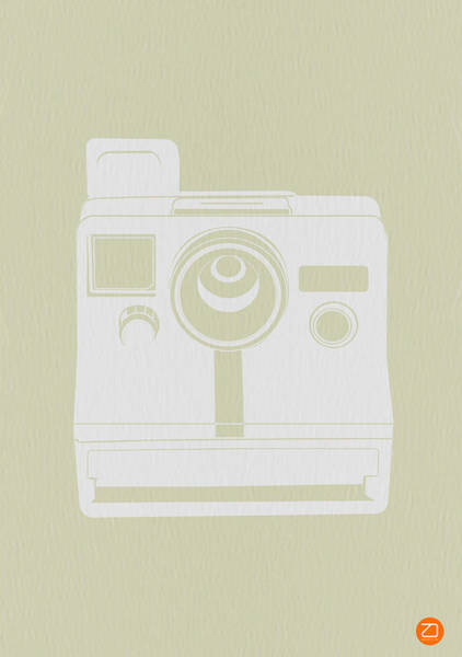 Camera Wall Art - Photograph - Polaroid Camera 2 by Naxart Studio
