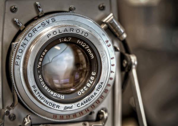 Focused Photograph - Polaroid Pathfinder by Scott Norris