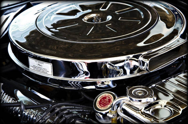 V8 Engine Wall Art - Photograph - Polished Power II by Ricky Barnard