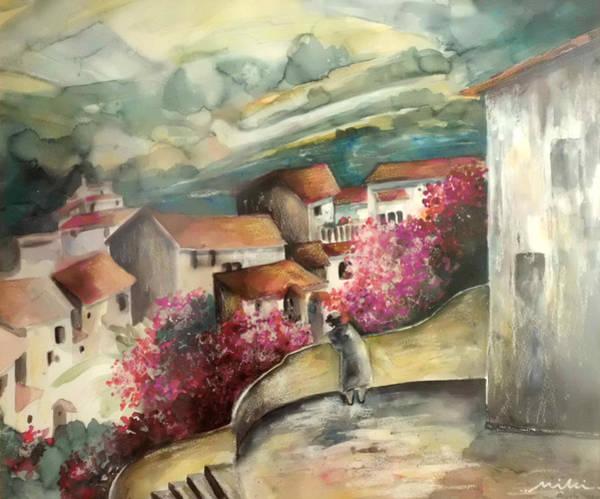 Benidorm Wall Art - Painting - Polop De La Marina 05 by Miki De Goodaboom