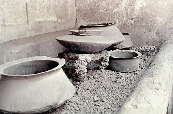 Photograph - Pompeii: Cooking Pots by Granger
