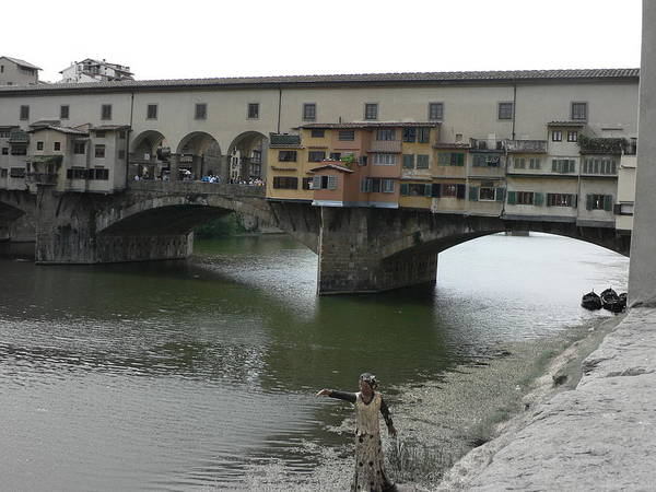 Photograph - Ponte Vecchio by Laurel Best