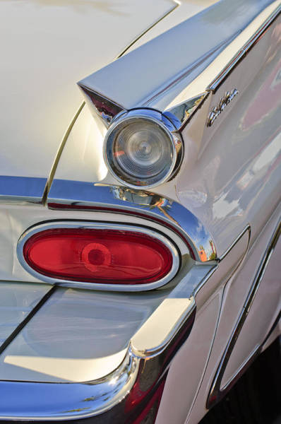 Photograph - Pontiac Catalina Taillight by Jill Reger