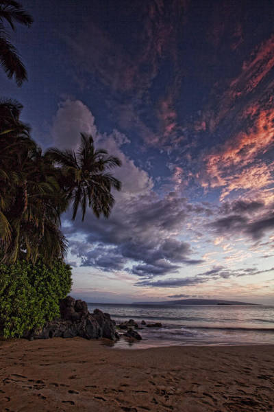 Maui Sunset Wall Art - Photograph - Poolenlena by James Roemmling