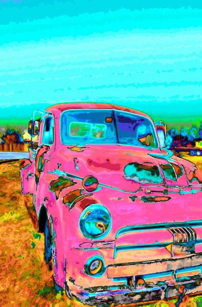 Digital Art - Pop Pickup by Charles Muhle