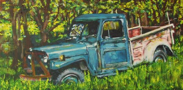 Painting - Pop Pops' Pick Up by Eric Dee