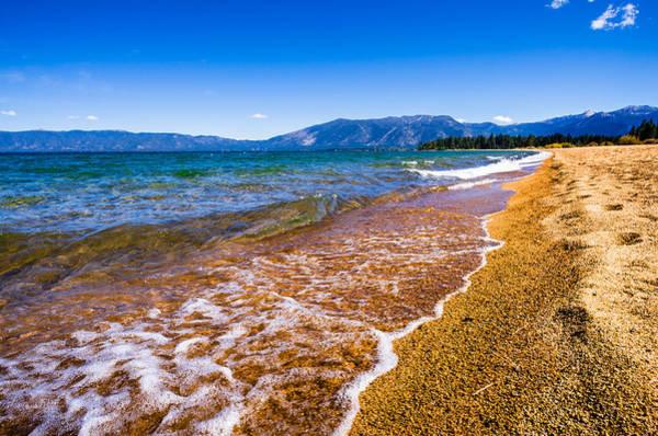 Pope Beach Lake Tahoe California Art Print