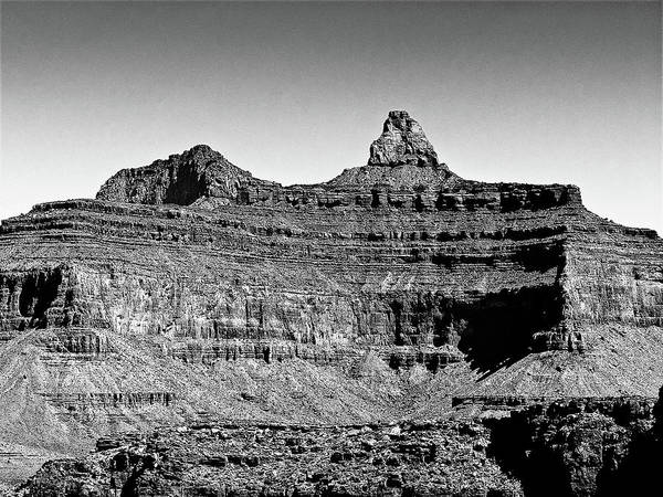 Photograph - Pope's Cap  Grand Canyon by Bob and Nadine Johnston