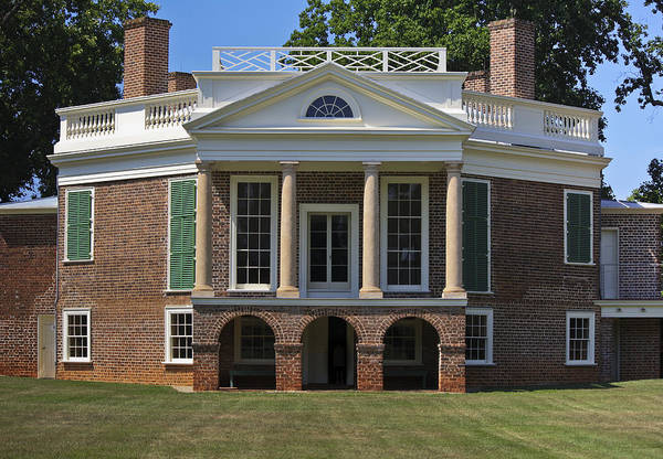Wall Art - Photograph - Poplar Forest From The South Lawn by Teresa Mucha