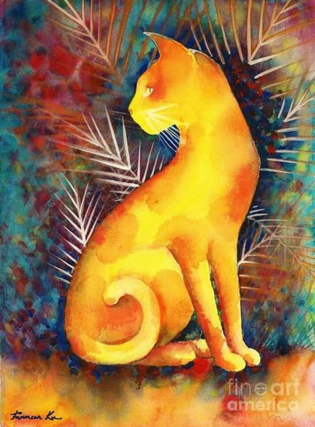Popoki Hulali Art Print