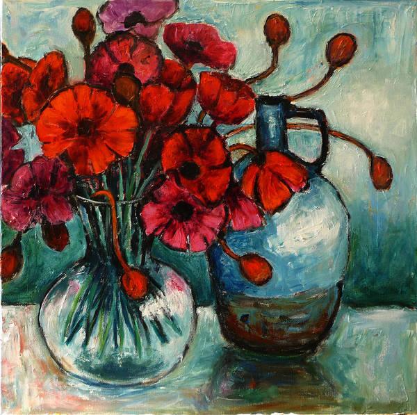 Painting - Poppy Day by Jeremy Holton