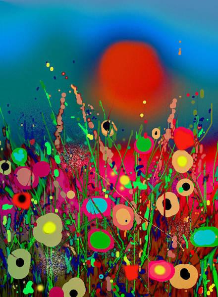 Wild Poppies Digital Art - Poppy Seed by Gary Yates