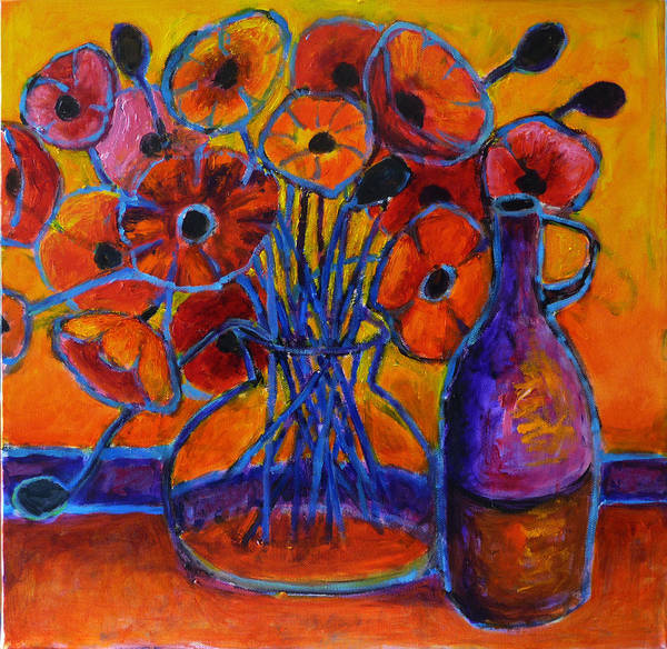 Painting - Poppy Time by Jeremy Holton